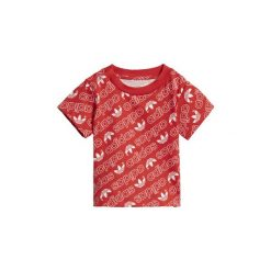 T-shirty z krótkim rękawem Dziecko  adidas  Koszulka Trefoil Monogram. Czarne bluzki dziewczęce z krótkim rękawem marki Nike. Za 79,95 zł.