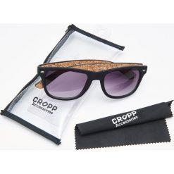 Akcesoria męskie: Okulary przeciwsłoneczne – Brązowy