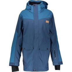 Płaszcze męskie: Płaszcz zimowy w kolorze niebieskim