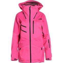The North Face FUSE BRIGANDINE Kurtka snowboardowa pink fuse. Różowe kurtki sportowe damskie marki The North Face, m, z nadrukiem, z bawełny. W wyprzedaży za 2889,15 zł.
