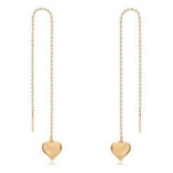 Biżuteria i zegarki: PROMOCJA Kolczyki Złote – złoto żółte 375, Cyrkonia