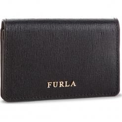 Mały Portfel Damski FURLA - Babylon 874701 P PS04 B30 Onyx. Czarne portfele damskie marki Furla, ze skóry. Za 320,00 zł.
