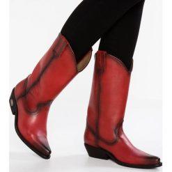 Kentucky's Western Kowbojki i Buty motocyklowe imagine tosca. Czerwone buty zimowe damskie marki Kentucky's Western, z materiału. W wyprzedaży za 447,20 zł.