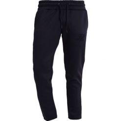 Spodnie dresowe męskie: SIKSILK TRICOT CROPPED Spodnie treningowe black