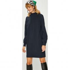Tommy Hilfiger - Sukienka. Szare sukienki balowe TOMMY HILFIGER, z elastanu, mini, proste. Za 749,90 zł.