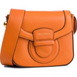 Torebka COCCINELLE - DS0 Vega E1 DS0 55 01 01 Flash Orange R12. Brązowe listonoszki damskie Coccinelle, ze skóry, na ramię. Za 1149,90 zł.