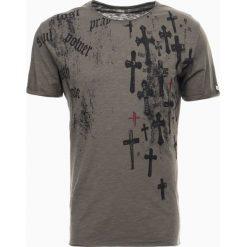 T-shirty męskie z nadrukiem: Key Largo TRANSLATION Tshirt z nadrukiem oliv