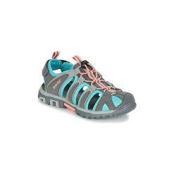 Sandały sportowe Dziecko  Hi-Tec  SHORE KID. Szare buty sportowe chłopięce Hi-tec. Za 143,20 zł.