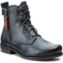 Botki LASOCKI - 70174-11 Granatowy. Czarne buty zimowe damskie marki Lasocki, ze skóry. Za 249,99 zł.
