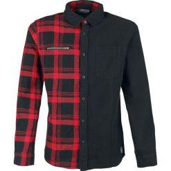 RED by EMP There Is No Business Like Rock Business Koszula czarny/czerwony. Białe koszule męskie na spinki marki bonprix, z klasycznym kołnierzykiem, z długim rękawem. Za 164,90 zł.