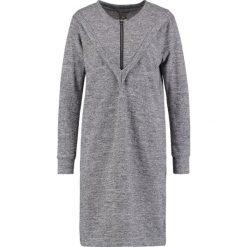 Sukienki dzianinowe: ICHI LINEA Sukienka dzianinowa grey melange