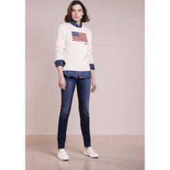 Polo Ralph Lauren Sweter cream multi. Białe swetry klasyczne damskie Polo Ralph Lauren, xs, z bawełny, polo. Za 629,00 zł.