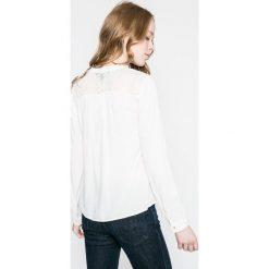 Vero Moda - Bluzka. Szare bluzki z odkrytymi ramionami Vero Moda, m, z materiału. W wyprzedaży za 79,90 zł.