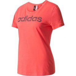 Adidas Koszulka damska Special Linear Tee W różowa r. XS (BP8381). Szare topy sportowe damskie marki Adidas, l, z dresówki, na jogę i pilates. Za 88,63 zł.
