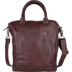 """Torby na laptopa: Skórzana torebka """"Georgio"""" w kolorze ciemnobrązowym – 42 x 38 x 14 cm"""