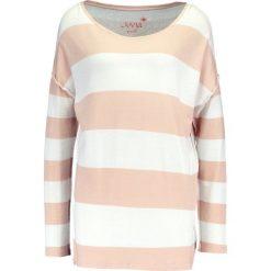 Swetry klasyczne damskie: Juvia CREW STRIPE Sweter ecru/biscuit