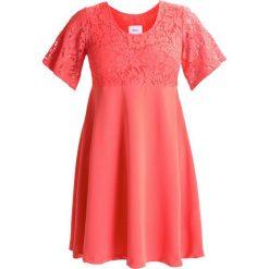 Sukienki hiszpanki: Zizzi Sukienka letnia deep sea coral