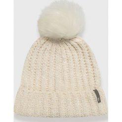 Answear - Czapka Nomad. Szare czapki zimowe damskie marki ANSWEAR, na zimę, z dzianiny. Za 59,90 zł.