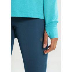 ASICS THERMOPOLIS HOODIE&SULPHUR  Koszulka sportowa lake blue heather. Niebieskie topy sportowe damskie Asics, l, z elastanu, z długim rękawem. W wyprzedaży za 211,65 zł.