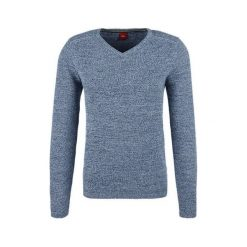 Swetry klasyczne męskie: S.Oliver Sweter Męski Xxl Szary