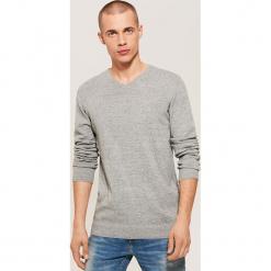 Sweter basic - Szary. Szare swetry klasyczne męskie House, l. Za 69,99 zł.