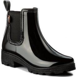 Kalosze GIOSEPPO - 40840 Black. Czarne buty zimowe damskie Gioseppo, z materiału. W wyprzedaży za 159,00 zł.