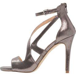 Sandały damskie: Miss Selfridge CALLIE Sandały na obcasie metallic