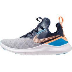 Nike Performance FREE TR 8 NEO Obuwie treningowe wolf grey/orange pulse/blue glow/obsidian. Czarne buty sportowe damskie marki Nike Performance, z materiału, na golfa. Za 459,00 zł.