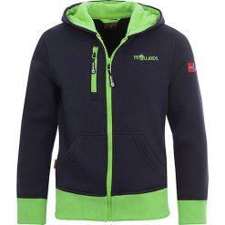 """Bluzy chłopięce: Bluza """"Oslo"""" w kolorze granatowo-zielonym"""
