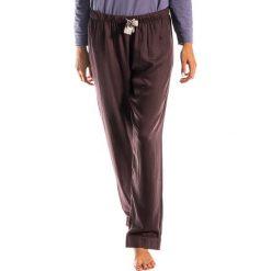 Piżamy damskie: Spodnie piżamowe w kolorze brązowym