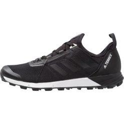 Adidas Performance TERREX AGRAVIC SPEED  Obuwie hikingowe core black. Czarne buty sportowe męskie adidas Performance, z materiału, outdoorowe. Za 549,00 zł.