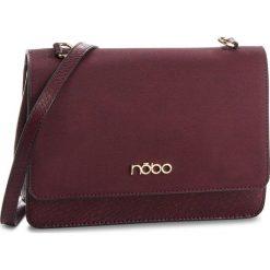 Torebka NOBO - NBAG-F2270-C005 Bordowy. Czerwone torebki klasyczne damskie marki Nobo, ze skóry ekologicznej, zdobione. W wyprzedaży za 189,00 zł.