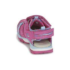 Sandały sportowe Dziecko  Geox  J BOREALIS G. A. Czerwone buty sportowe dziewczęce Geox. Za 191,20 zł.