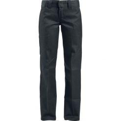 Spodnie damskie: Dickies spodnie (873 Slim Straight Work) Chino czarny