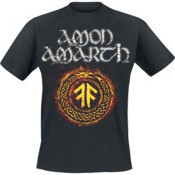 Amon Amarth The pursuit of vikings T-Shirt czarny. Czarne t-shirty męskie z nadrukiem Amon Amarth, xxl, z dekoltem na plecach. Za 89,90 zł.