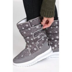 Szare Śniegowce Arrangement. Szare buty zimowe damskie Born2be, za kostkę. Za 89,99 zł.