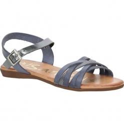 Sandały skórzane Oh My Sandals 3440. Szare sandały damskie marki Oh My Sandals. Za 119,99 zł.