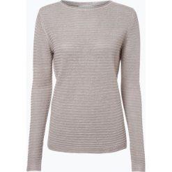 Apriori - Sweter damski z lnu, szary. Niebieskie swetry klasyczne damskie marki Apriori, l. Za 89,95 zł.