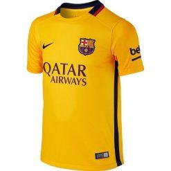 Nike Koszulka męska FC Barcelona Away Stadium żółta r. S (659028 740). Żółte t-shirty męskie marki Nike, m. Za 124,01 zł.