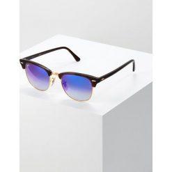 RayBan CLUBMASTER Okulary przeciwsłoneczne havanablu/flash gradient. Brązowe okulary przeciwsłoneczne damskie aviatory Ray-Ban. Za 669,00 zł.