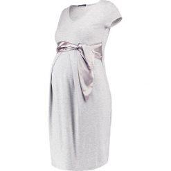 Sukienki hiszpanki: 9Fashion CETY  Sukienka z dżerseju grey melange
