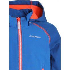 Icepeak RHODY  Kurtka Softshell aqua. Niebieskie kurtki chłopięce przeciwdeszczowe Icepeak, z elastanu. Za 169,00 zł.