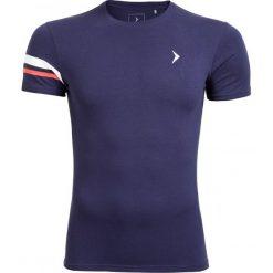 T-shirt męski TSM615 - ciemny granatowy - Outhorn. Niebieskie t-shirty męskie Outhorn, na lato, m, z bawełny. W wyprzedaży za 24,99 zł.