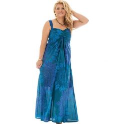 Odzież damska: Sukienka w kolorze morsko-turkusowym