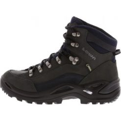 Lowa RENEGADE GTX MID Buty trekkingowe dunkelgrau/navy. Szare buty trekkingowe damskie Lowa. Za 809,00 zł.