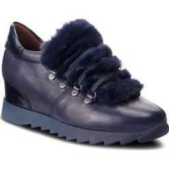 Sneakersy HISPANITAS - Sesame HI87380 Marine. Niebieskie creepersy damskie Hispanitas, z materiału. Za 499,00 zł.