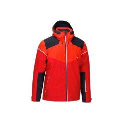 Kurtka narciarska SLIDE 700 męska. Białe kurtki męskie marki KIPSTA, z elastanu. W wyprzedaży za 249,99 zł.