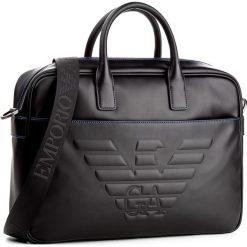 Torba na laptopa EMPORIO ARMANI - Y4P090 YG90J 81072 Black. Czarne plecaki męskie Emporio Armani, ze skóry ekologicznej. Za 1209,00 zł.