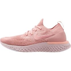 Nike Performance EPIC REACT FLYKNIT Obuwie do biegania treningowe rust pink/pink tint/tropical pink/barely rose. Czerwone buty do biegania damskie marki Nike Performance, z materiału. Za 629,00 zł.
