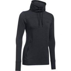 Bluzy damskie: Under Armour Bluza damska Featherweight Fleece Slouchy czarny r.L (1293020-002)